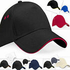 Plain Baseball Caps Headwear Beechfield Male Female Unisex Printing 10+ Colours