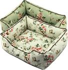 New Pastoral Style 100% Cotton Canvas Pet Dog Cat Sofa Bed House All Cover Taken