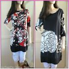 *Filo* Floral or abstract  tunic/dress sizes10,12,14,16 plus sizes great design
