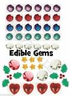 Edible Gems Jewels Culpitt Topper Cake decoration cupcake jelly Diamonds