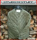 BELGIAN ARMY QUILTED LINER JACKET OLIVE GREEN VARIOUS SIZES