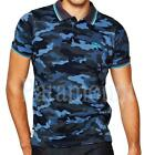 Tokyo Tigers Mooka Tipped Camouflage Polo Shirt  Mens Size