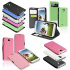 Flip PU Leather Wallet Stand Case Cover Smart Wake For SAMSUNG GALAXY S4 i9500