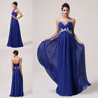 2014 New Chiffon Bridesmaid Evening Formal Party Ball Gown Prom Dress Size 6-20