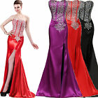 Prom Bridesmaid Bridal Ball Gowns Evening Party Cocktail Slim Wedding Long Dress