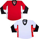 NHL Style Replica Hockey Jersey  Ottawa Senators NO LOGO DJ300 $33.75 USD on eBay