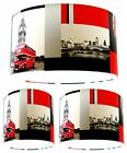 Lampshade Handmade with Decorpassion London Scene Retro Print Wallpaper SIZES+