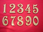 MDF NUMBERS  5cm 50mm 2 inch  (30p each)-  LASER CUT