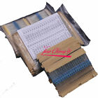 64 values 1280pcs 1 ohm - 10M ohm 1 4W Metal Film Resistors  Assortment Kit