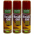 250ml Teak Oil Aerosol Spray Can Exterior Hardwood Soft Garden Furniture Protect