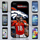 New Peyton Manning Denver Broncos Apple iPhone & Samsung Galaxy Case Cover