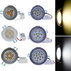 New 9W 12W 15W LED Downlight Dimmable Ceiling Recessed Light Lamp Bulb +driver