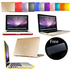 Frosted Hardshell Case Cover For Apple MacBook Pro Retina Air 13 + Keyboard Skin