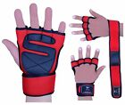 Evo Fitness Weight lifting Wrist Support Straps Gym Wraps Neoprene Gloves Bandag
