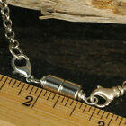 Magnetic Clasp Jewelry Converters-Silver 6mm Extra Strength Necklaces Bracelets
