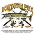 NORTHERN PIKE AND RODS FISHING T-SHIRT SHORT SLEEVE MUSKIE WALLEYE CRAPPIE