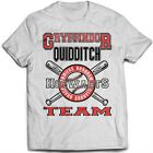 9130w GRYFFINDOR TEAM T-SHIRT inspired by Harry Potter Hogwarts Quidditch alumni