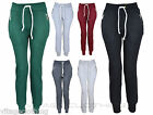 Womens Ladies Bottoms Jogging pants casual Track pant Fleece Zip Pocket Trousers