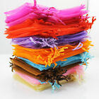 200 LUXURY ORGANZA WEDDING FAVOUR GIFT CANDY BAGS JEWELLERY POUCH FREE SHIPPING