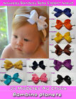 Bandeau cheveux FILLE BEBE Naissance Newborn ribbon Noeud Baby kid HEADBAND bow