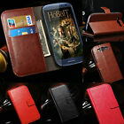 LUXURY LEATHER VINTAGE/RETRO WALLET CASE COVER FOR SAMSUNG GALAXY SIII S3 I9300