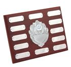 Annual Wooden Shields FREE Engraving in 3 Sizes With FREE Engraving