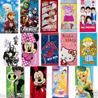 NEW KIDS CHILDREN OFFICIAL DISNEY CHARACTER NOVELTY CARTOON BATH BEACH TOWELS