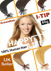 100s Pre Bonded Stick-Tip-100% REMY Human Hair Extensions- 60g-Grade AAA