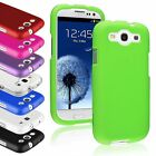 Color Hard Snap-On Rubberized Skin Case Cover for Samsung Galaxy S III S3 i9300