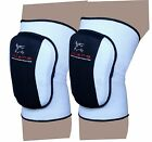 EVO Martial Arts MMA Volleyball Wrestling Knee Pad Guards straps wraps Workwear