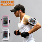 White Outdoor Sports Running Armband Pouch Pocket Case For Apple iPhone5 5C 5S