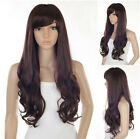 New Fashion Style Women Girls Sexy Cute Long Curly Full Wavy Hair Wig 3 Colors