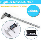 Präzis Digital Messschieber Schieblehre Messlehre 0-200mm / 0-300mm LCD-Display