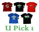 KIDS NIKE SPORTS TEE ATHLETIC GRAPHIC T SHIRT BOYS ACTIVE CHILDREN CLOTHES