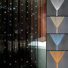 New Beaded String Curtain Window Divider Tassel Screen Panel Home decor 3 Colors