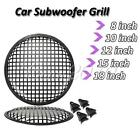 """Car Audio Speaker SubWoofer Grill Grille Cover Guard Protector 8/10/12/15/18"""""""