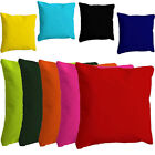 DELUXE WATERPROOF WASHABLE SCATTER CUSHIONS INDOOR OUTDOOR FURNITURE 9 COLOURS