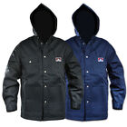 Ben Davis - Men's Hooded Snap Front Jacket