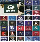 "NFL Teams - Man Cave 19"" X 30"" Starter Area Rug Floor Mat $19.99 USD"