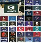 "NFL Teams - Man Cave 19"" X 30"" Starter Area Rug Floor Mat $19.99 USD on eBay"