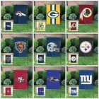 """NFL Officially Licensed GARDEN FLAGS 15""""x10""""  Embroidered Wall Yard- NFL Teams on eBay"""