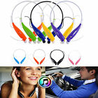Wireless Bluetooth Headset Earphone Sport Stereo Headphone for Samsung iPhone LG