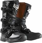 2014 Fox Comp-3 Youth Motocross Boots Black
