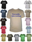 I'm Really Into Resting Funny Mens T-Shirt Sizes Small - XXL Various Colours
