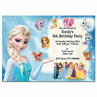 i18/blue Personalised Birthday party invitations invites 7th 8th 9th 10th 11th