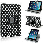 iPAD AIR LEATHER 360 DEGREE ROTATING CASE COVER STAND FOR APPLE iPAD AIR iPAD 5