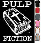 Pulp Fiction Atheist size Designs T-shirt Singlets Women's Men's funny atheism