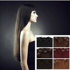 "18"" CLIP IN 120g 100% REMY HUMAN HAIR EXTENSIONS 8 PCS"