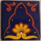 Mexican Tile Folk Art Handmade Talavera Backsplash Handpainted Mosaic # C054