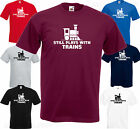 STILL PLAYS WITH TRAINS - Funny BIRTHDAY Gift Model Railway Set OO Gauge T SHIRT